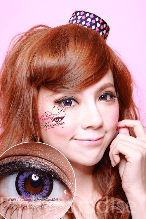 Geo Angel Violet Circle Lenses (Colored Contacts)