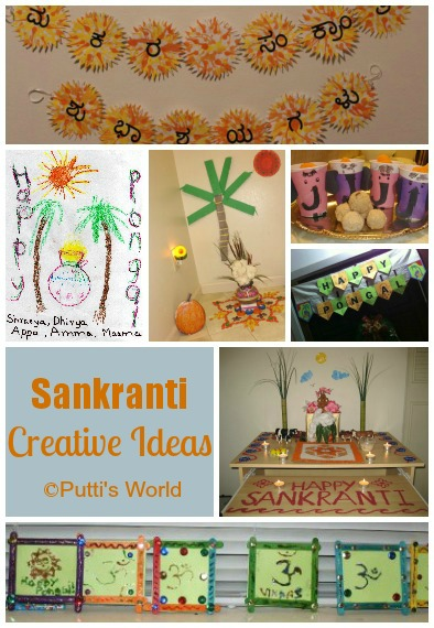 Creative Kids Crafts Sanktanti  Pongal