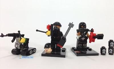 ISIS minifigures brickarms