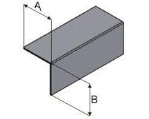 Профиль горизонтальный ПГ 40х40 х 1,2мм