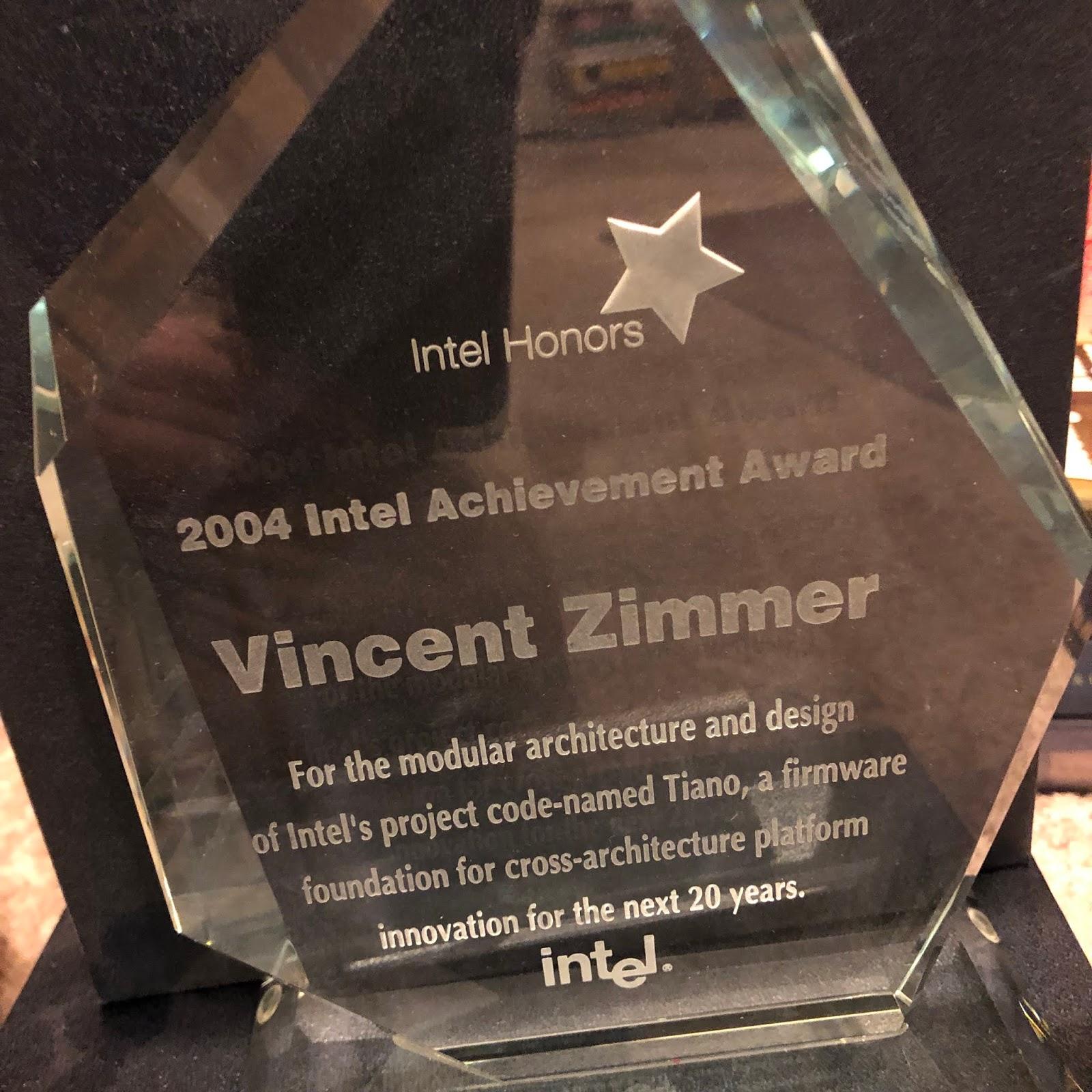 Vincent Zimmer's blog