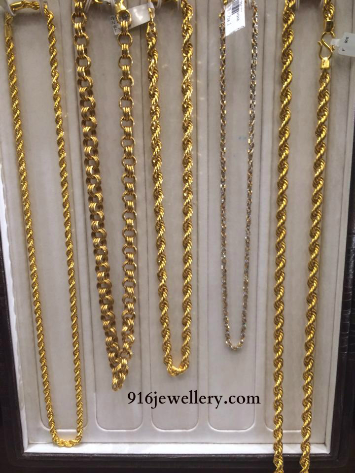 Gold Chains Designs Sudhakar Gold Works