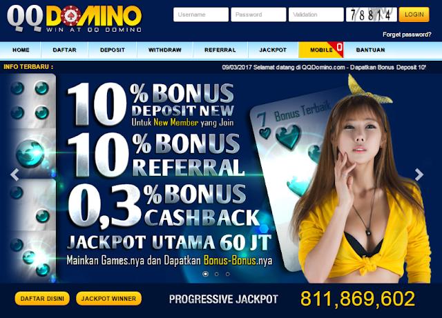 Cara Melakukan Pendaftaran di QQ Domino