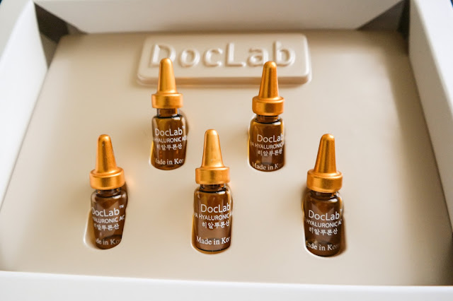Doclab's Hyaluronic Acid Face Ampoules,