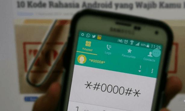Ini dia 10 Kode Rahasia Smartphone yang Perlu Anda Ketahui