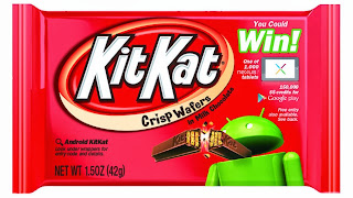 Android 4.4 kitkatのイメージ