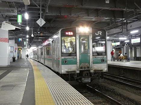 【ダイヤ改正で存続!】701系の東北本線 快速ラビット 福島行き