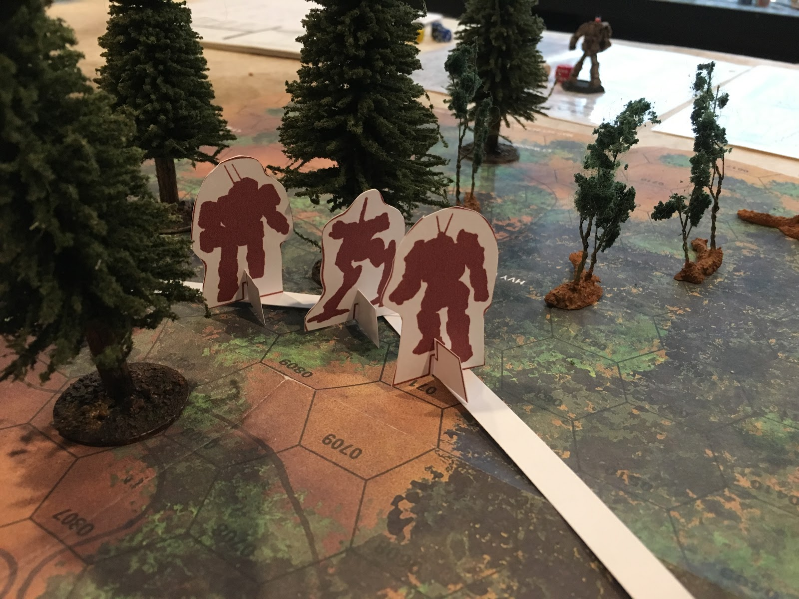 1000 Foot General: Battletech Campaign #1: Surprise!