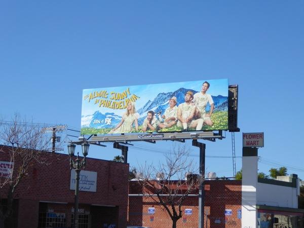 Its Always Sunny in Philadelphia season 12 billboard