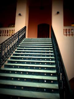 Escadaria no Interior do Cabildo em Asuncion, Paragual