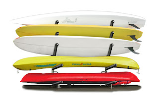 dock storage for boards and kayaks