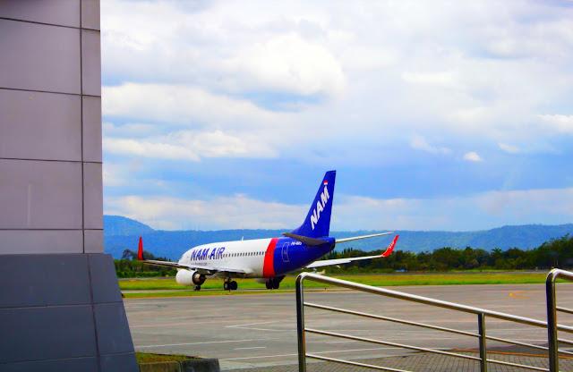 Foto Pesawat Di Bandara Adisucipto Yogyakarta Indonesia