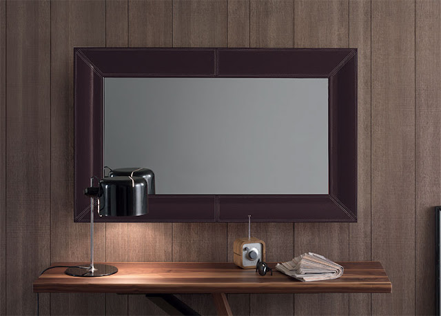 Leather Mirrors