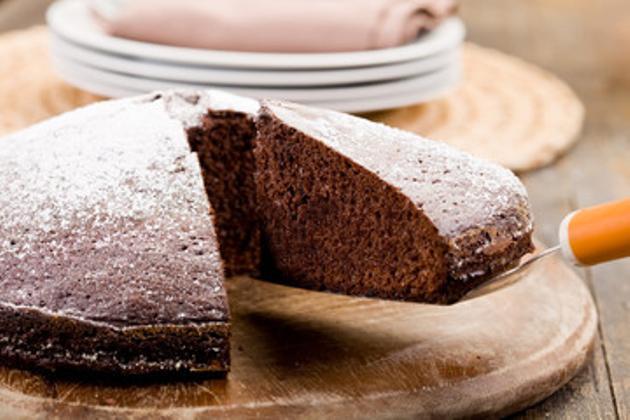 Torta de chocolate con Nesquik