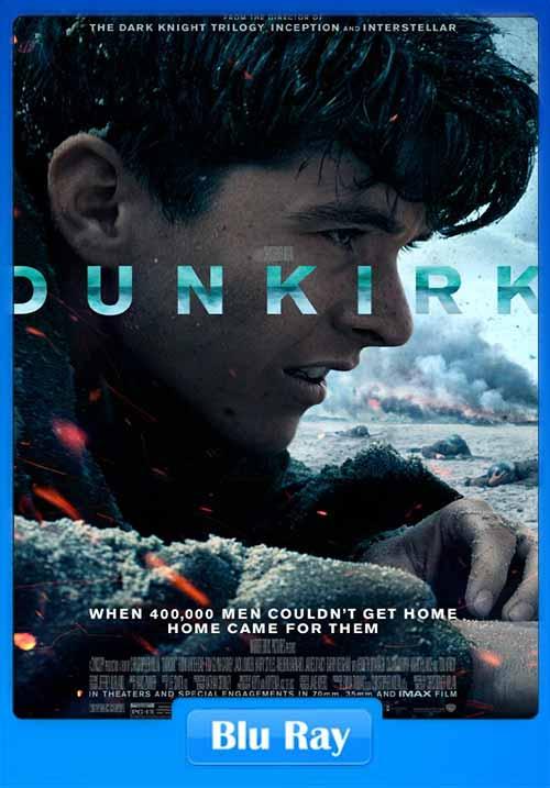 Dunkirk 2017 480p BRRip 300MB x264 Poster