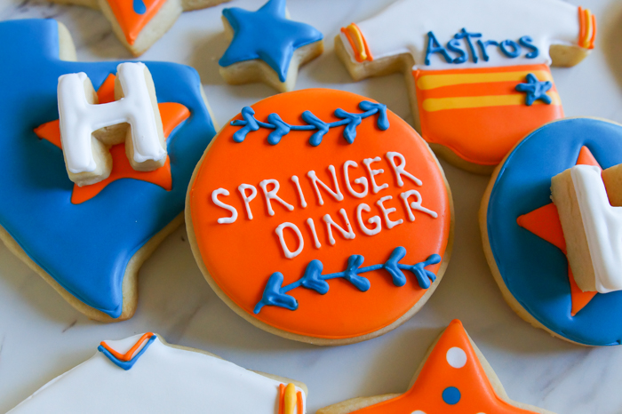 Houston Astros Cookies ♥ bakeat350.net : George Springer