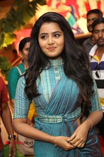 Actress Anupama Parameswaran Stills in Stylish Saree at Shatamanam Bhavathi Audio Launch  0005.JPG