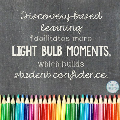 Discovery-based learning and light bulb moments!