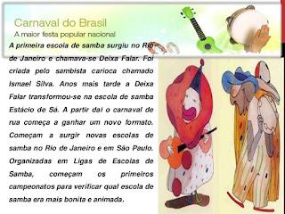 A primeira escola de samba