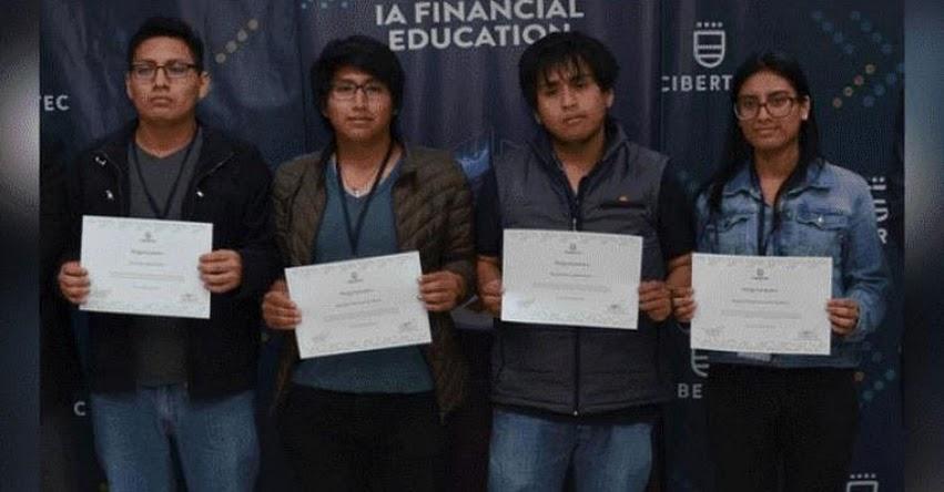 Estudiantes de CIBERTEC diseñan aplicaciones para reducir la falta de educación financiera