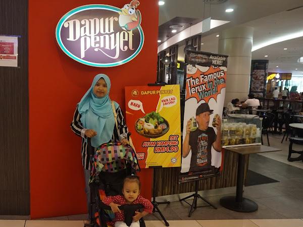 Menu Ayam Kampung Sedap Di Dapur Penyet,IOI Mall City Putrajaya.