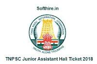 TNPSC Junior Assistant Hall Ticket