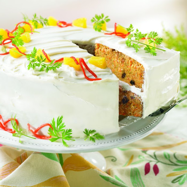 nut free carrot cake recipe