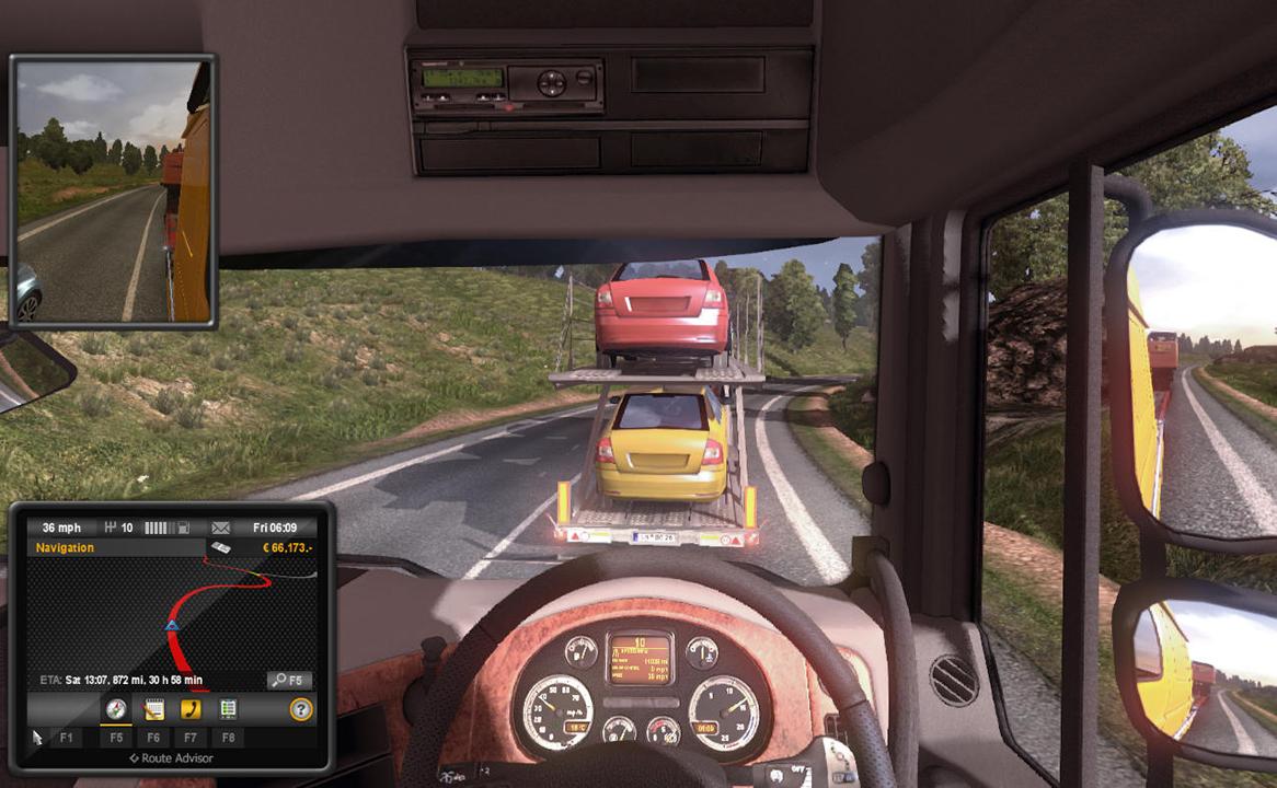 Euro Truck Simulator 2 v1 7 Full Crack | MAZTERIZE