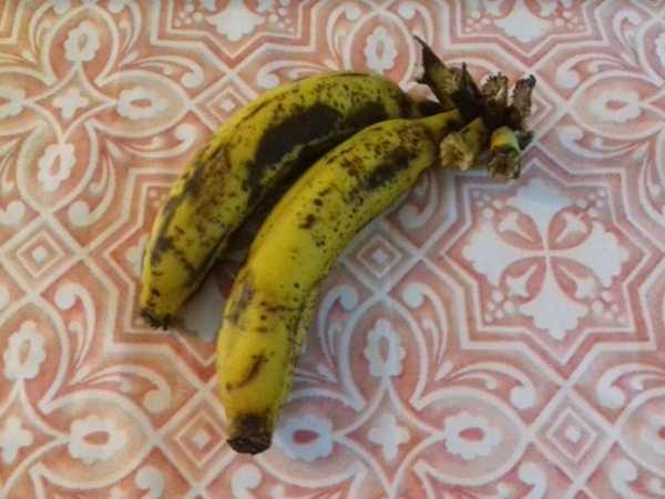 banana de churrasqueira no microondas