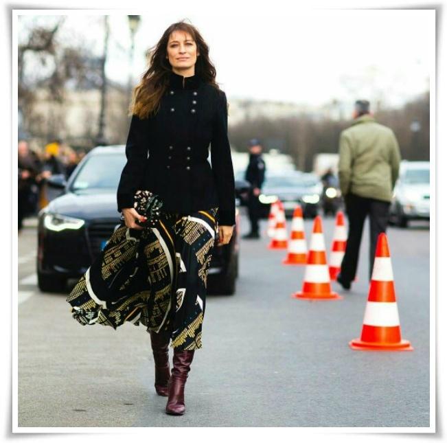 Estilo fashionista parisiense: Caroline de Maigret