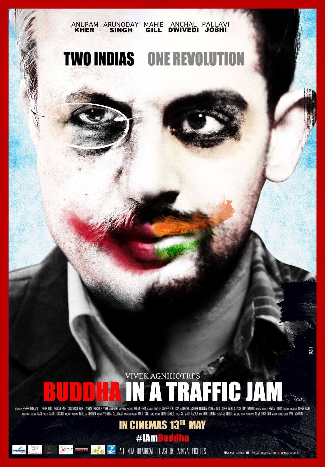 full cast and crew of bollywood movie Buddha In A Traffic Jam 2016 wiki, Mahie Gill, Anupam Kher, Arunoday Singh, Pallavi Joshi, Aanchal Dwivedi story, release date, Actress name poster, trailer, Photos, Wallapper