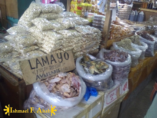 Dried danggit and other Pasalubong in Puerto Princesa Palengke
