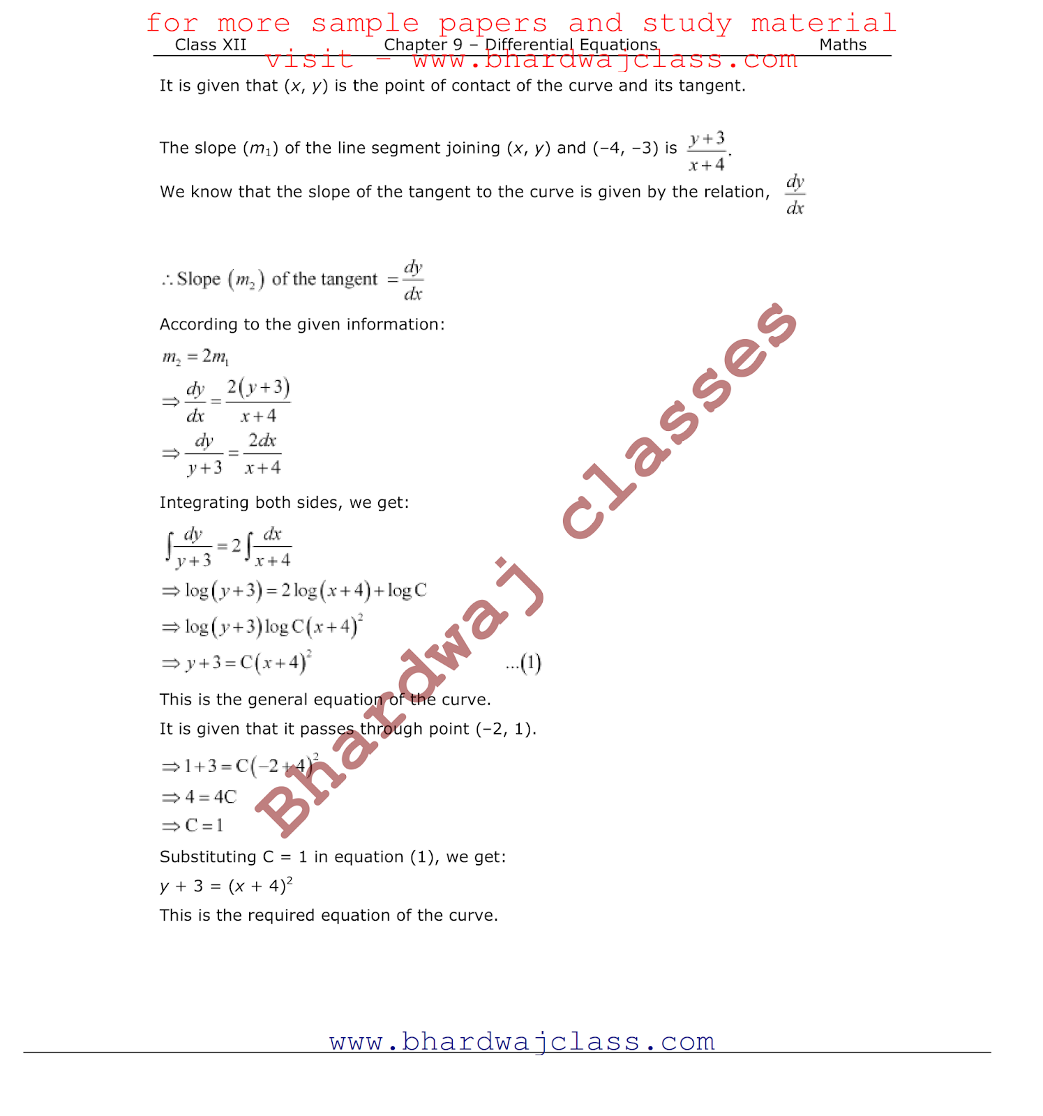 NCERT Solutions for Class 12 Mathematics in PDF Free Download