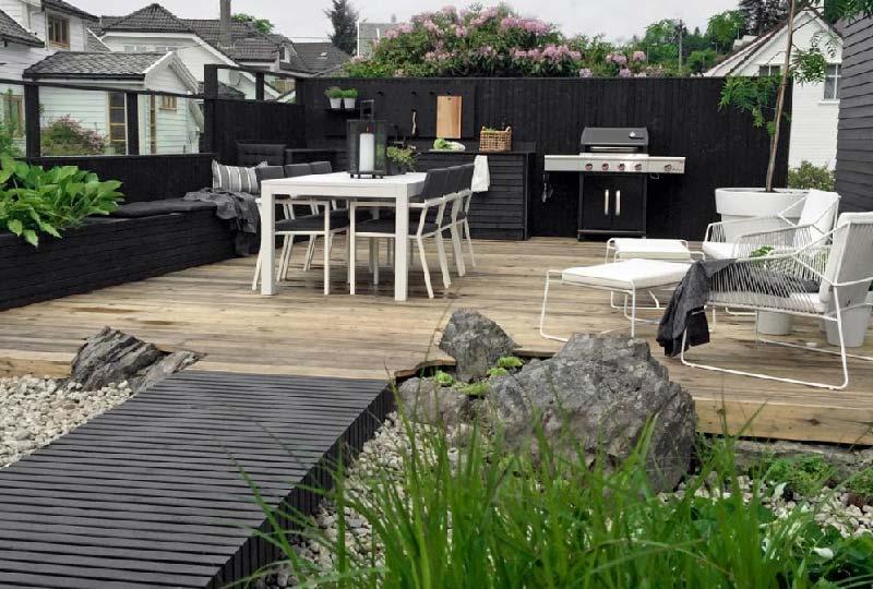 Pavimenti di legno per esterno
