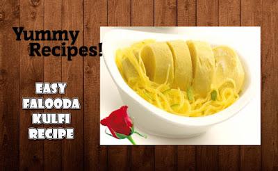 Falooda Kulfi Recipe - How To Make Falooda Kulfi