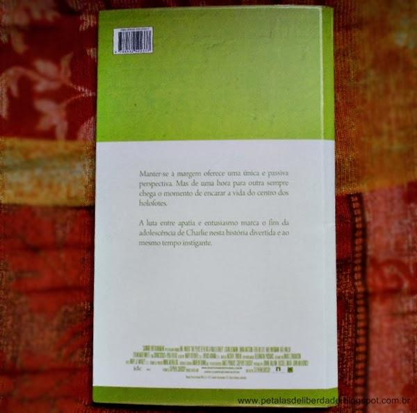 ler online, trecho, resumo, sinopse, livro, baixar, pdf, filme, resenha, As vantagens de ser invisível, Stephen Chbosky, editora, Rocco, Jovens Leitores, contracapa