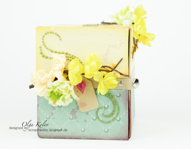 @olgakolov @scrapberrys #box #decor #cherishedjewels #scrapbooking #cardmaking #flowers #curls