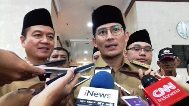 Wagub Sandi Tidak Mau Komentari Omongan Ketua DPRD