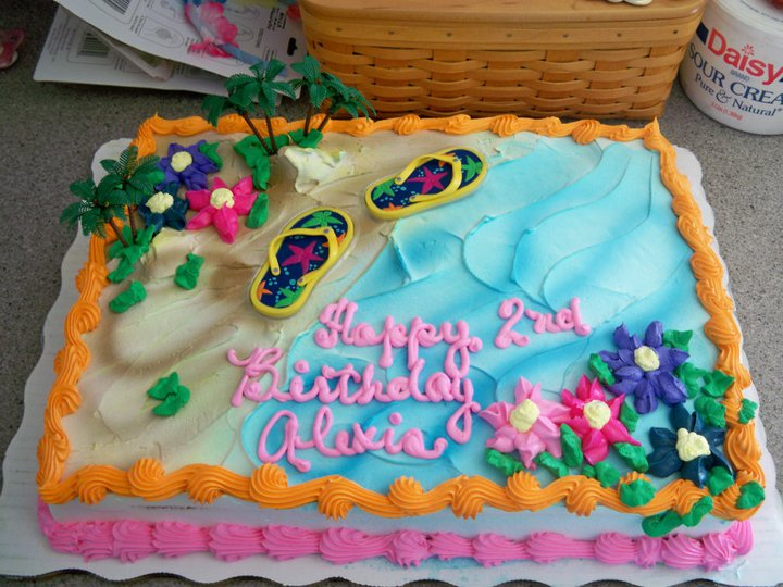 Lovely Birthday Cakes Luau Birthday and Walmart On All About