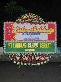 Bunga Rangkaian Sawah Besar, Jakarta Pusat