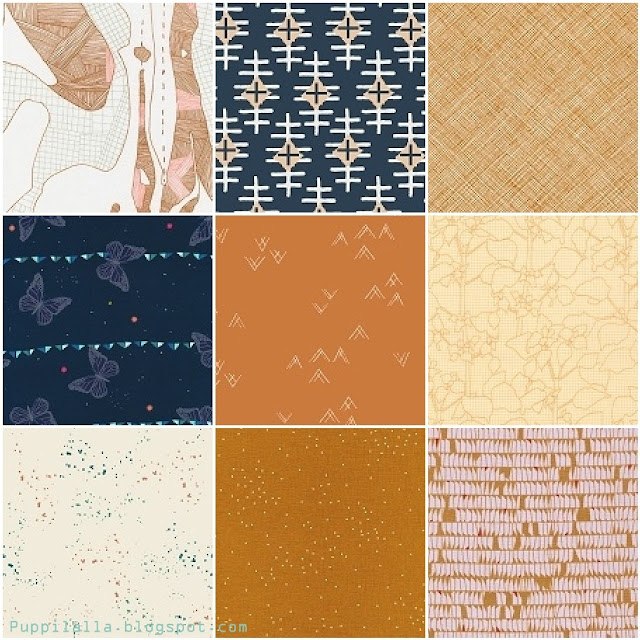 Puppilalla Fabric Mosaic Contest Brown