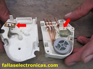 mantenimiento de timer de nevera