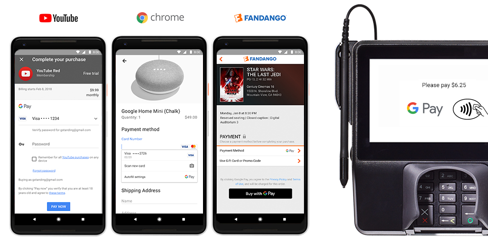 Google Wallet and Android Pay to function together under one brand, G Pay