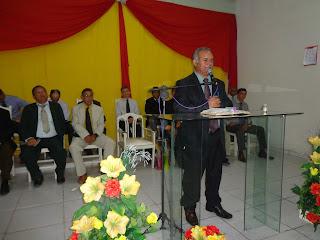 Parabéns ao Pastor da Assembleia de Deus