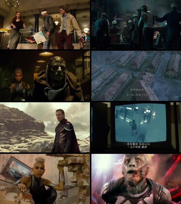 X-Men Apocalypse 2016 Dual Audio Hindi 480p HC HDRip