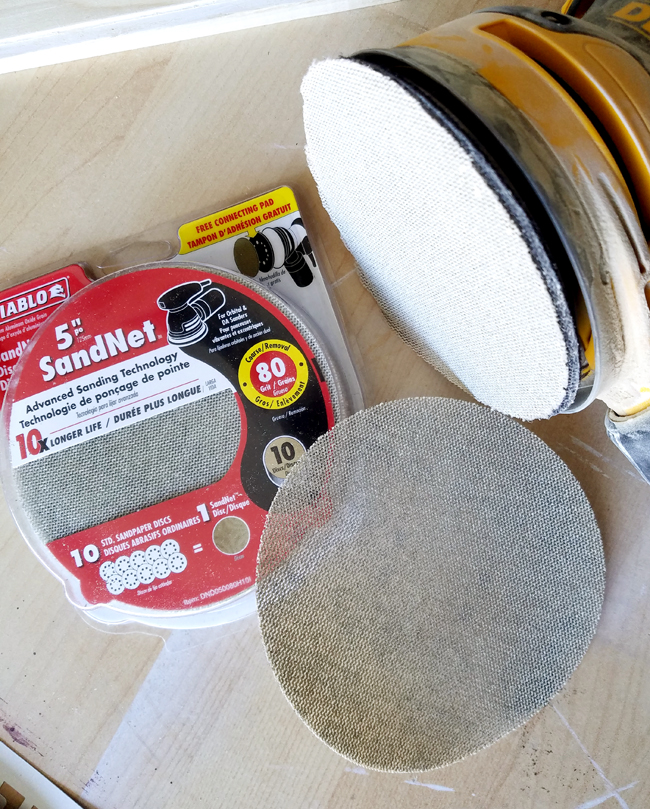 Diablo SandNet Sanding discs for sanding wood