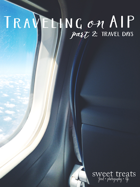 AIP Travel part 2: travel days