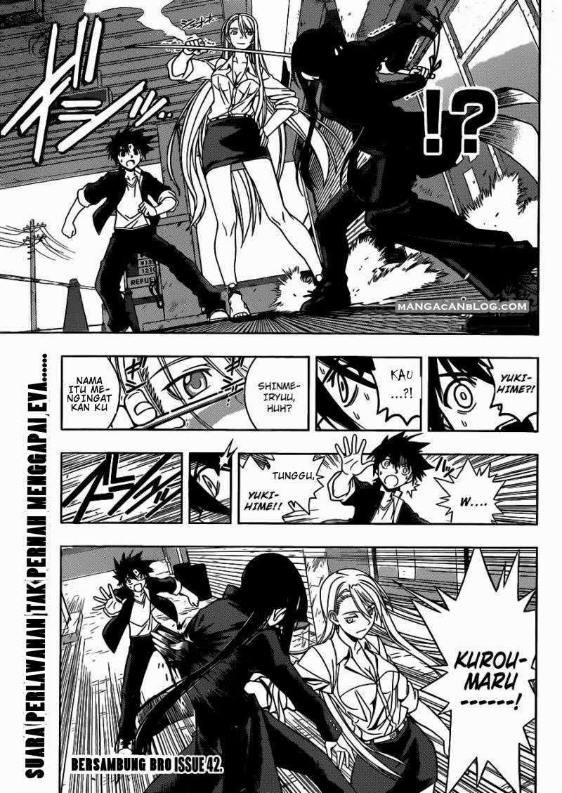 Baca Komik UQ Holder! Chapter 3 Bahasa Indonesia