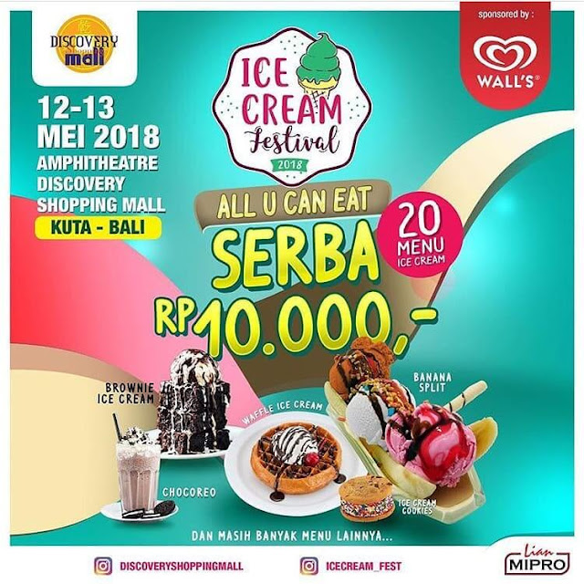 Ice Cream Festival 2018, Surganya Pecinta Ice Cream di Bali