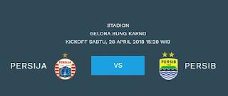 Kick-off Persija vs Persib Berubah Jadi Sore